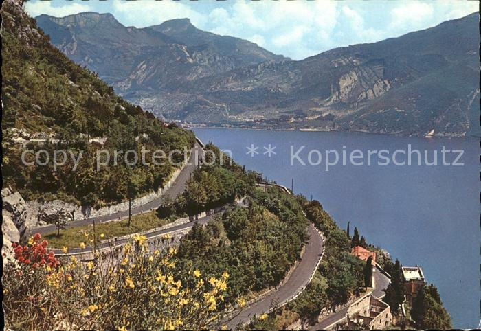 Riva del Garda Strada del Ponale Gardasee Kat.