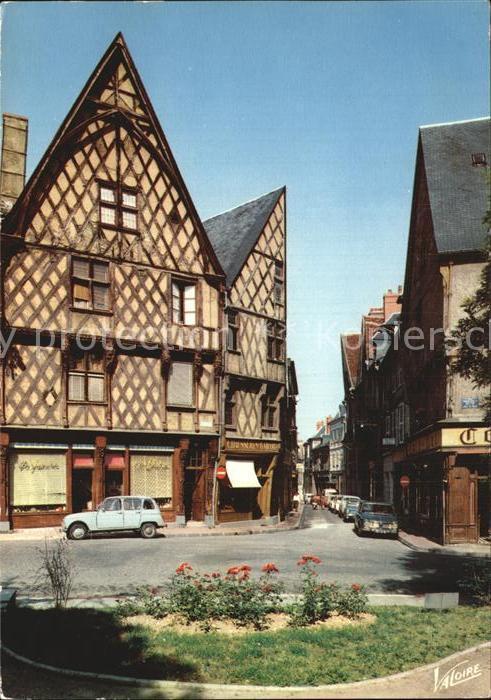 Bourges Place Gordaine Kat. Bourges