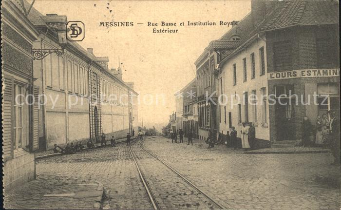Messines Rue Basse et Institution Royale Exterieur /  /
