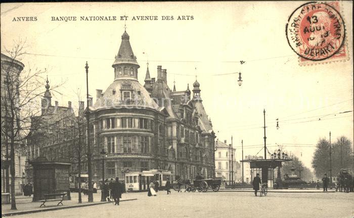 Anvers Antwerpen Banque Nationale et Avenue des Arts /  /