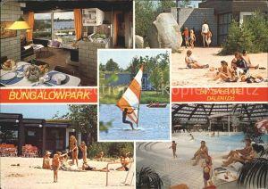 Dalen Drenthe Bungalowpark Huttenheugte Bungalow Hallenbad Kat.