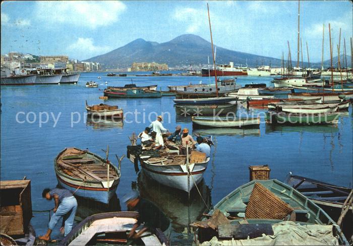 Napoli Neapel Meereskueste Mergellina Kat. Napoli