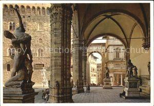 Firenze Toscana Loggia della Signoria Kat. Firenze