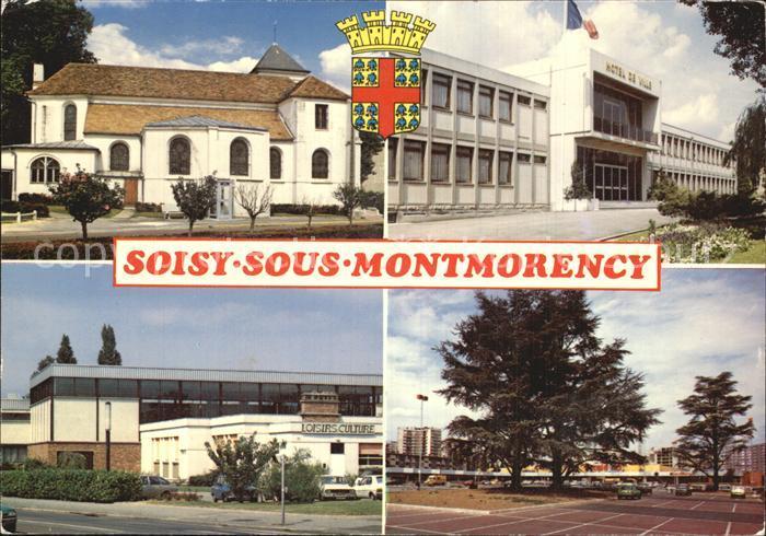 Soisy sous Montmorency Eglise Hotel de Ville Kat. Soisy sous Montmorency
