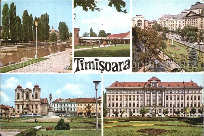 Timisoara Teilansichten Gebaeude Kat. Timisoara