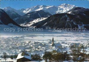 Uttendorf Salzburg Pinzgau Stubachtal Winter Kat. Uttendorf