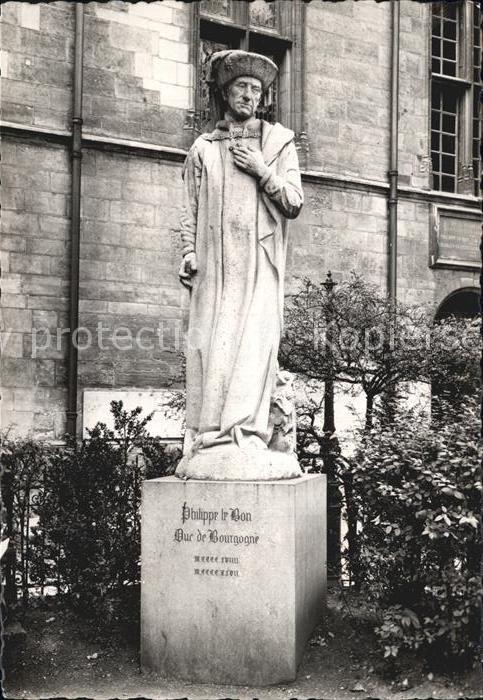 Dijon Cote d Or Statue de Philippe de Bon Kat. Dijon