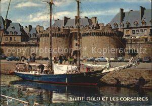 Saint Malo Ille et Vilaine Bretagne et les Corsaires Port Kat. Saint Malo