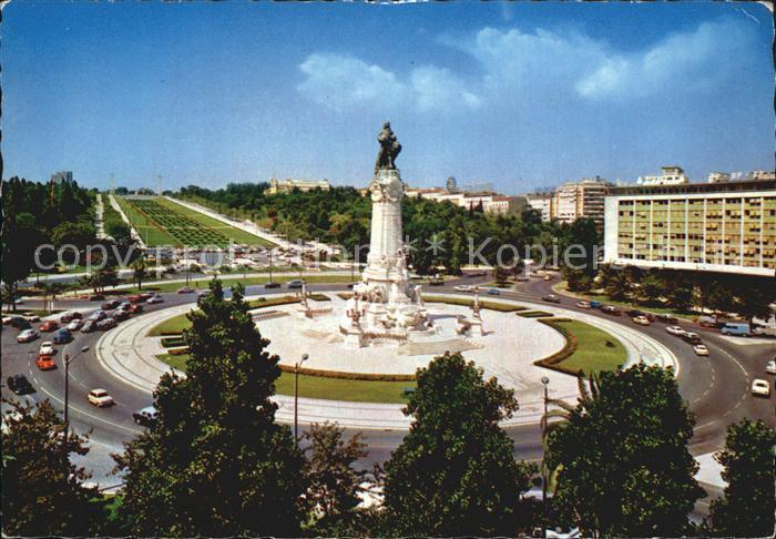 Lisboa Marquis de Pombal Circus Kat. Portugal