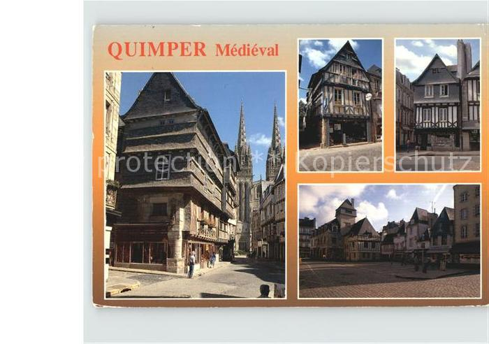 Quimper Medieval Kat. Quimper