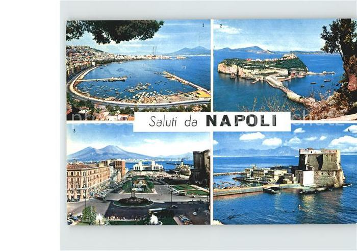 Napoli Neapel Hafen Platz  Kat. Napoli