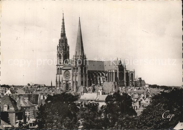 Chartres Eure et Loir La Cathedrale Kat. Chartres