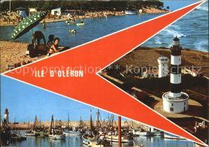 Ile d Oleron Plage de Gatseau Port de la Cotiniere Kat. Saint Pierre d Oleron