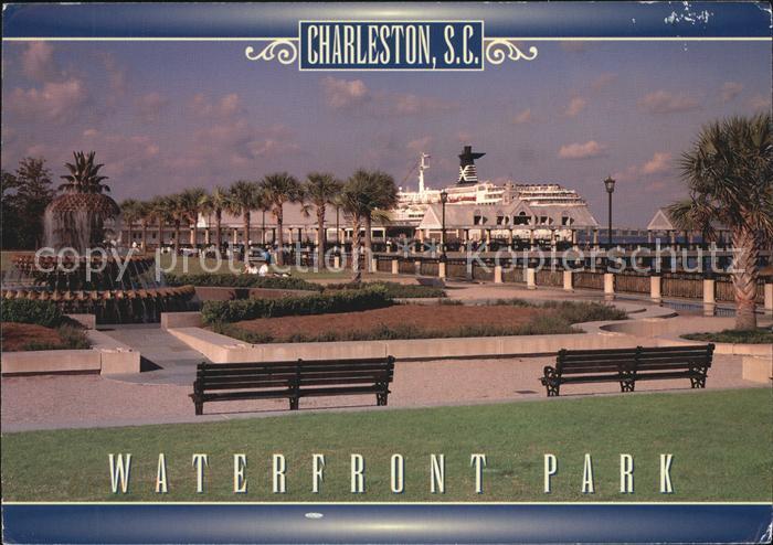 Charleston South Carolina Waterfront Park Kat. Charleston
