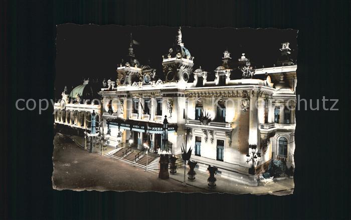 Monte Carlo la Principaute de Monaco Kat. Monte Carlo