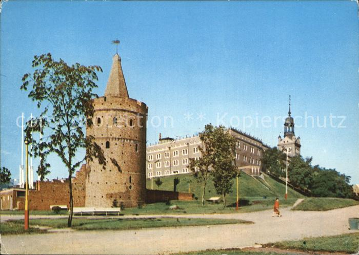 Szczecin Steinturm Kat. Szczecin Stettin