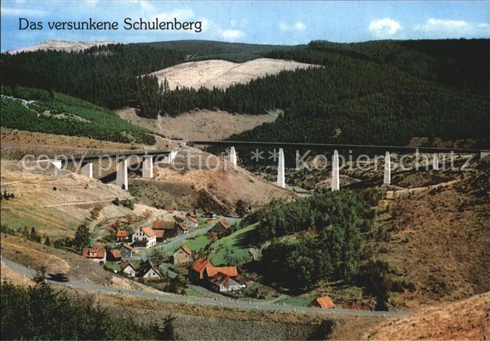 Schulenberg Oberharz Versunkenes Schulenberg Kat. Schulenberg im Oberharz