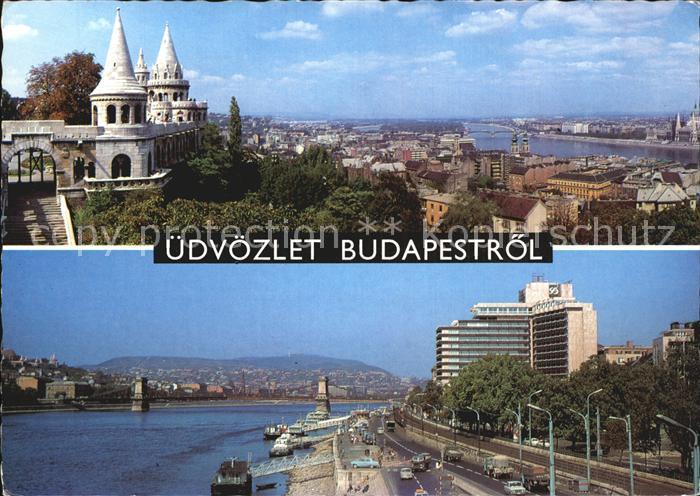 Budapest Stadtansicht  Kat. Budapest