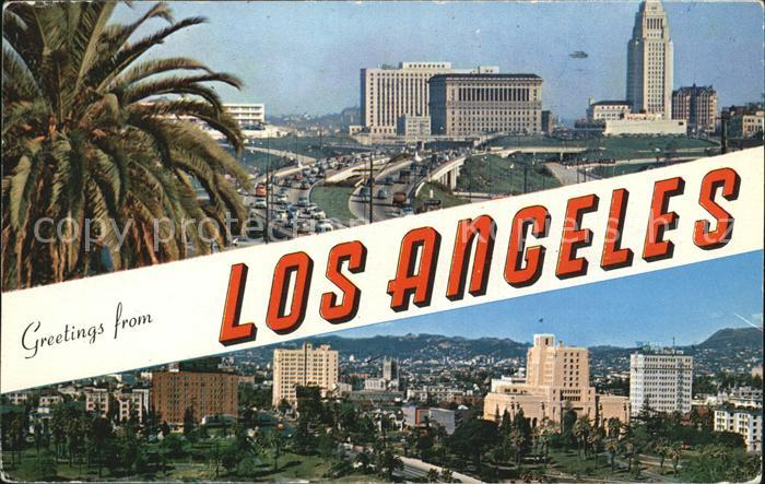 Los Angeles California  Kat. Los Angeles