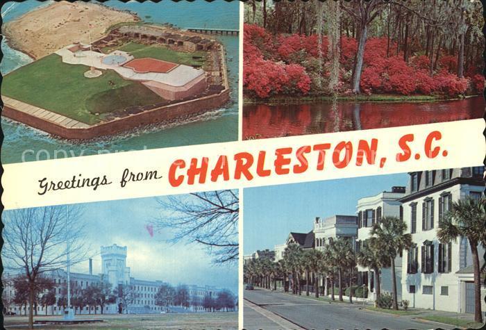 Charleston South Carolina Charles Town Kat. Charleston