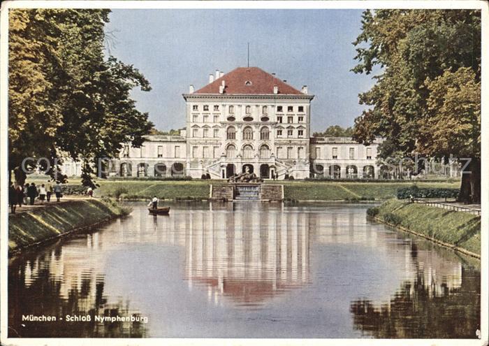 Muenchen Schloss Nymphenburg Kat. Muenchen