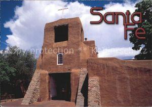 Santa Fe Texas San Miguel Chapel Kat. Santa Fe