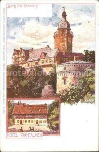 Falkenstein Harz Burg Hotel / Falkenstein Harz /Harz LKR