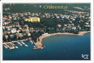Crikvenica Kroatien Fliegeraufnahme Kat. Kroatien