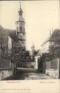 Dippoldiswalde Osterzgebirge Kirche Schloss Kat. Dippoldiswalde
