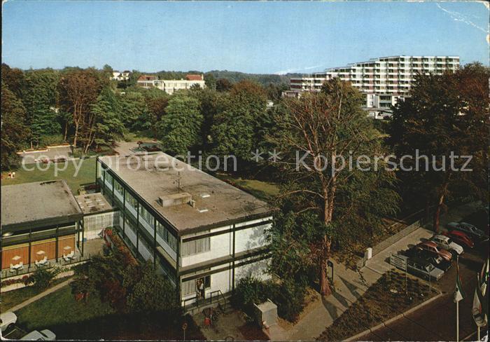 Gluecksburg Ostseebad Haus des Kurgastes und Kurpark Kat. Gluecksburg (Ostsee)