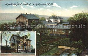 Frankenhausen Bad Kinderheilanstalt  Kat. Bad Frankenhausen