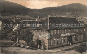 Friedrichroda Gast Logierhaus Thueringer Hof  Kat. Friedrichroda
