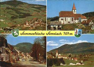 Semriach Kirche Platz Kat. Semriach