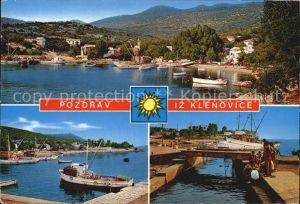 Klenovica Teilansichten Hafen