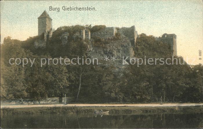 Halle Saale Burg Giebichenstein Kat. Halle