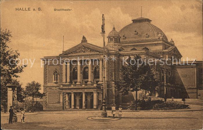 Halle Saale Stadttheater Kat. Halle