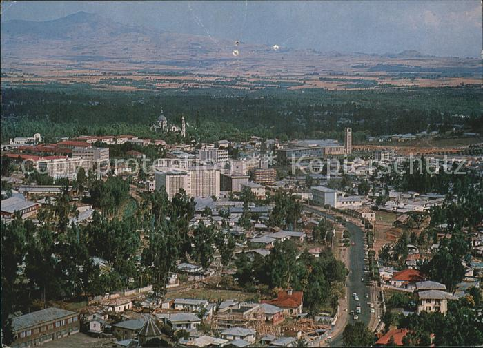 Addis Ababa Fliegeraufnahme Kat. Addis Ababa