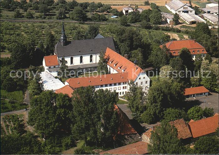 Altenstadt Hessen Benediktinerinnen Abtei Kloster Engelthal Fliegeraufnahme Kat. Altenstadt