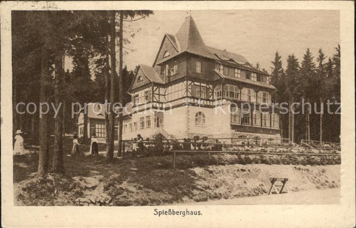 Friedrichroda Spiessberghaus Kat. Friedrichroda