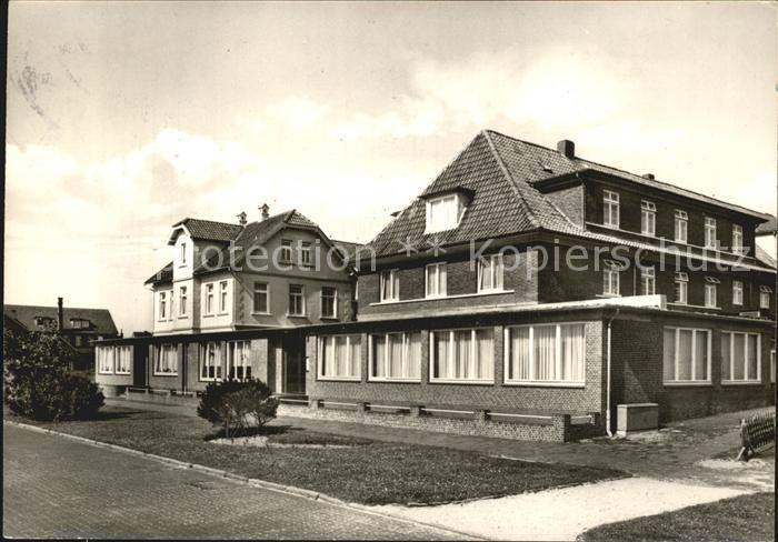 Langeoog Nordseebad Christl Erholungsheim Bethanien Kat. Langeoog
