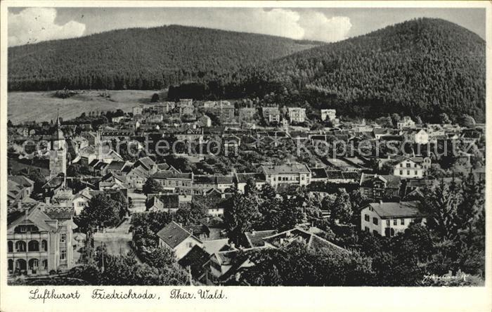 Friedrichroda Thueringer Wald Luftkurort Kat. Friedrichroda