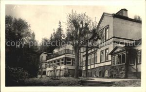 Friedrichroda Sanatorium Tannenhof Kneippanstalt Kat. Friedrichroda
