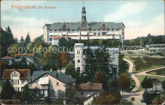 Friedrichroda Kurhaus Kat. Friedrichroda