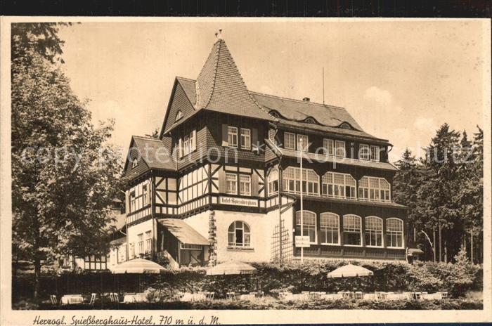 Friedrichroda Herzogliches Spiessberghaus Hotel Kat. Friedrichroda