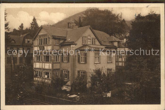 Friedrichroda Villa Huebner Kat. Friedrichroda