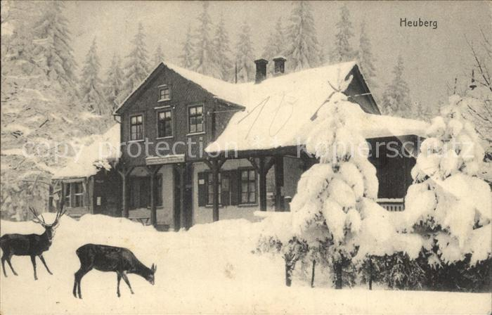 Friedrichroda Heuberg Winter Kat. Friedrichroda