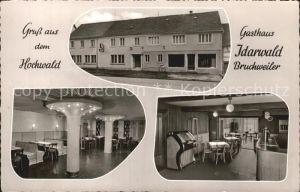 Kempfeld Gasthaus Idarwald Bruchweiler  Kat. Kempfeld