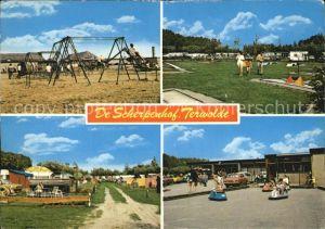 Terwolde Camping De Scherpenhof Spielplatz Minigolf Autoscooter Kat. Niederlande