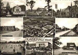 Kaiserau Kamen Haus der Jugend Freibad Sportschule  Kat. Kamen