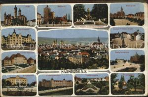 Naumburg Saale Dom Marientor Jaegerkaserne Reichskrone Realgymnasium  Kat. Naumburg